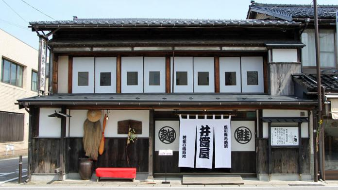 Izutsuya known as a lodging place for Basho Matsuo