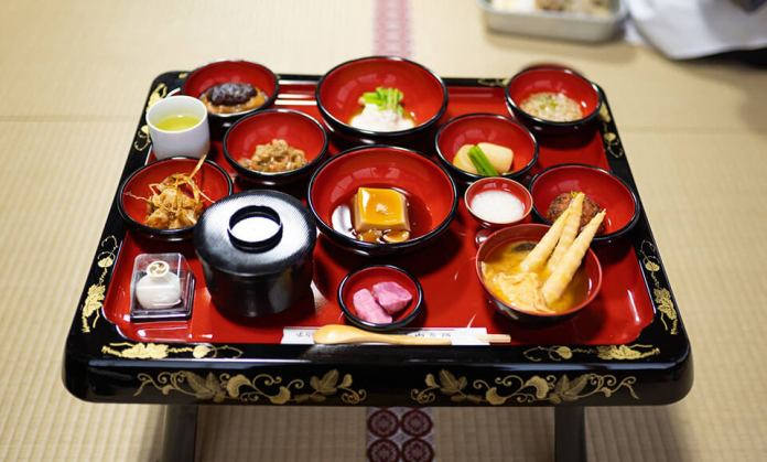 Shojin Ryori Vegetarian cuisine passed down by Haguro's itinerant mountain monks.