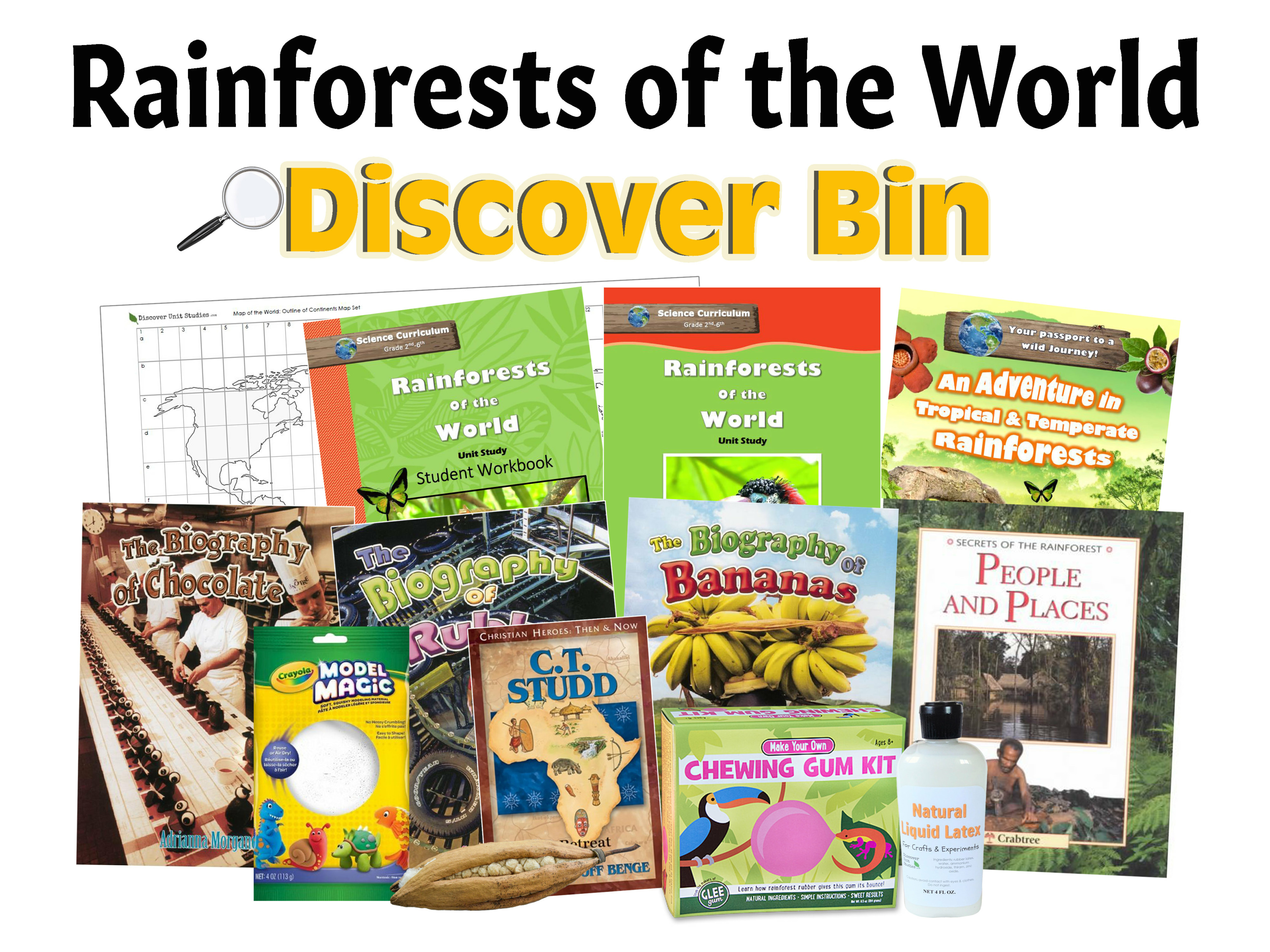 Rainforests Of The World Discover Bin