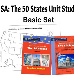 USA: The 50 States Geography \u0026 History Curriculum [ 1280 x 1707 Pixel ]