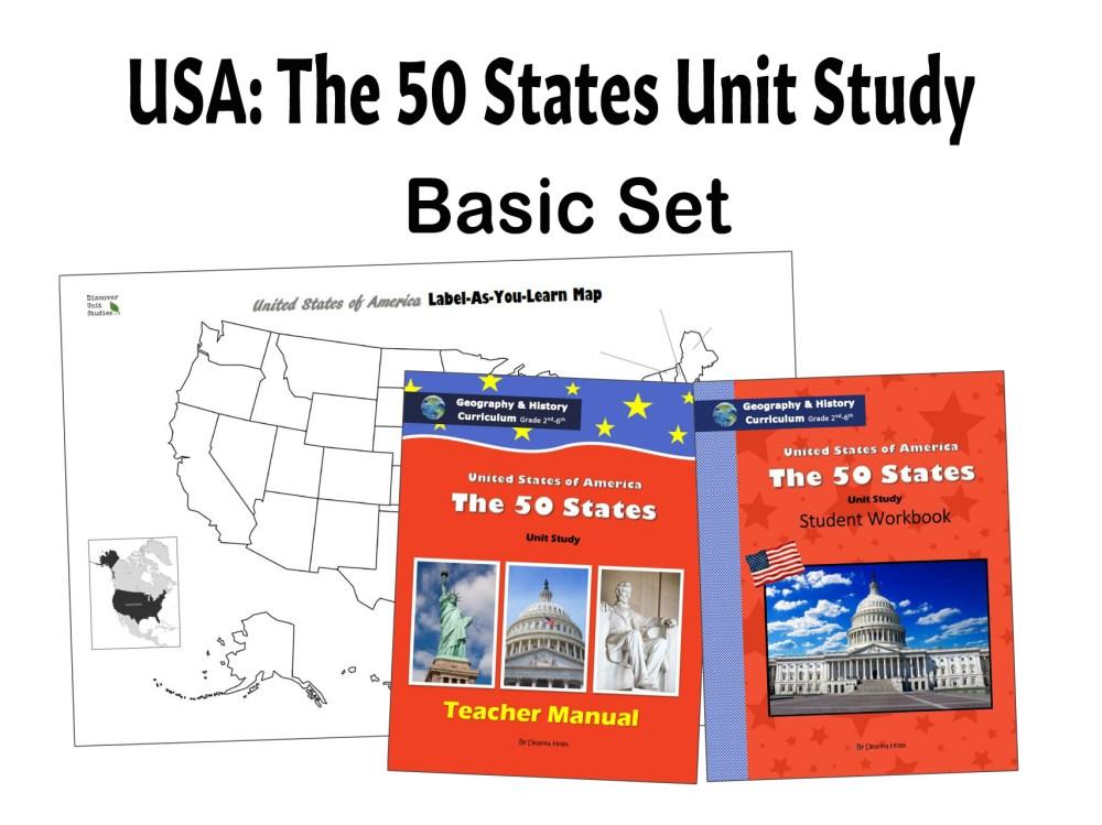 medium resolution of USA: The 50 States Geography \u0026 History Curriculum