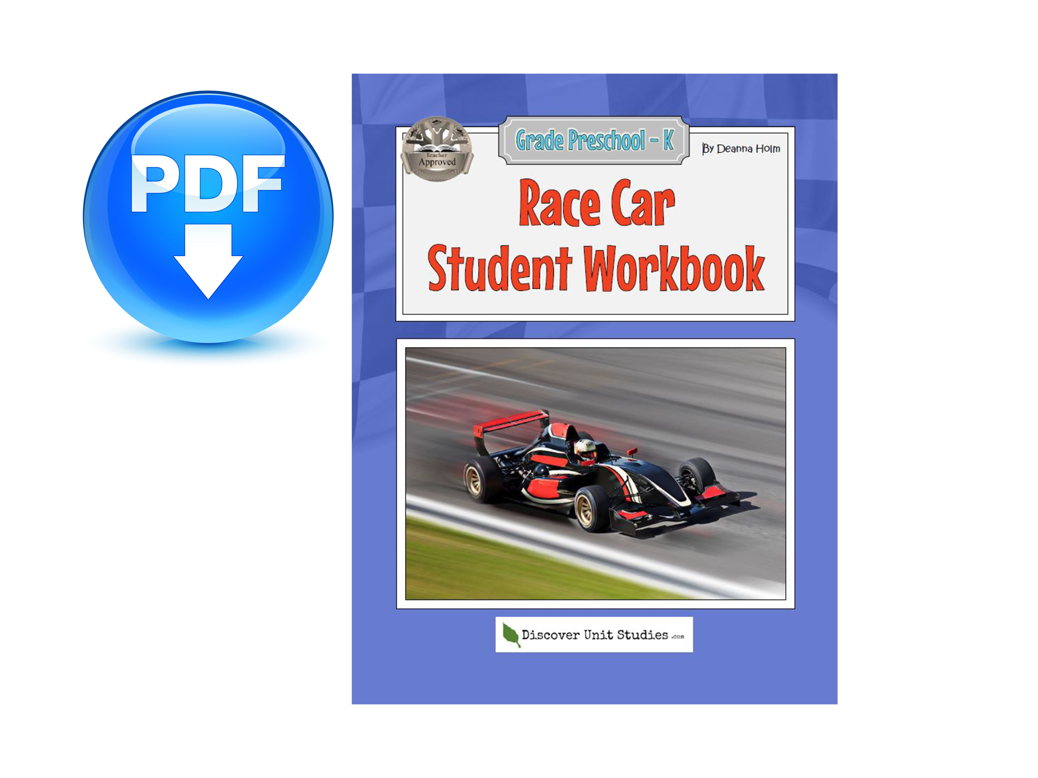 Race Car Student Workbook Download