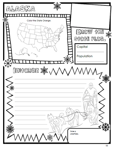 USA: The 50 States Geography & History Curriculum
