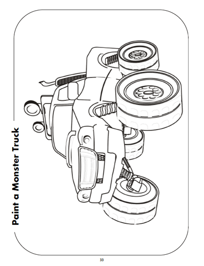 Race Car Activities PDF Download