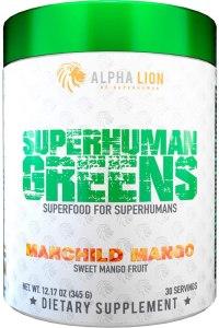 Alpha Lion Superhuman best Green Superfood powders