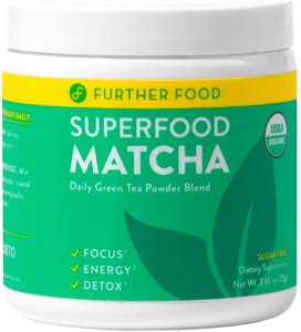Further Food Superfood Matcha the best green supplements