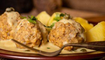Königsberger meatballs with creamy caper sauce recipe,