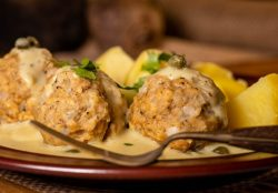 Königsberger meatballs with creamy caper sauce recipe,