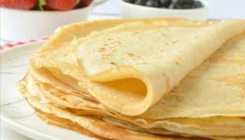 Easy Eggless Vegan Crepes recipe