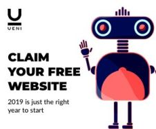 UENI how to open a new website