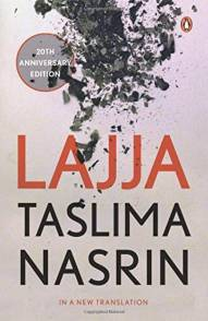 lajja by Taslima Nasrin -  the most famous & controversial banned books in India