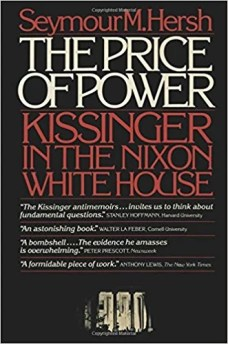 The Price of Power by Seymour M. Hersh -  the most famous & controversial banned books in India