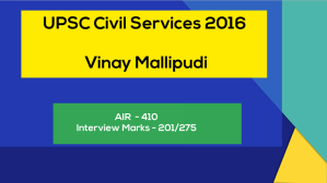Brilliant IAS Interview Questions and answers Vinay Mallipudi UPSC civil services 2016