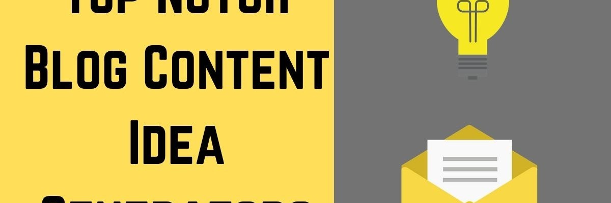 Best blog content topic idea generators