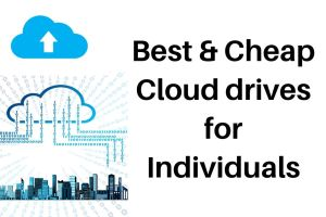 BEst & cheap cloud drive storage for individuals