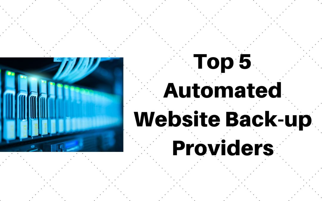Auto website backup providers