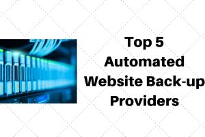 Auto website backup providers