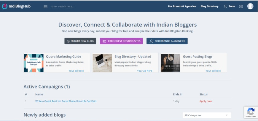 Indibloghub Bloggers Community