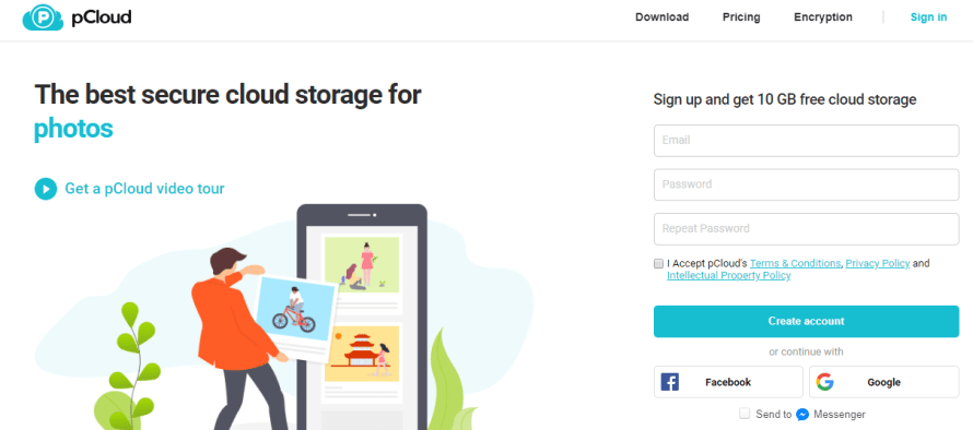 P cloud - best and cheap cloud drive storage for individuals personal use