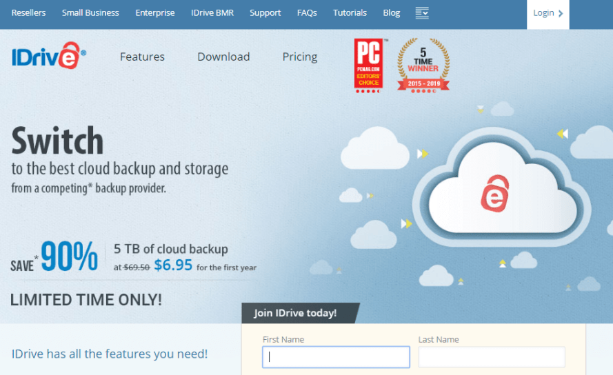 iDrive - best and cheap cloud drive storage for individuals personal use
