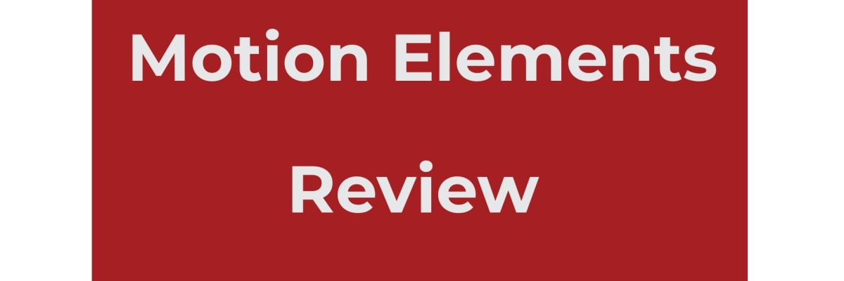 MOtion elements review