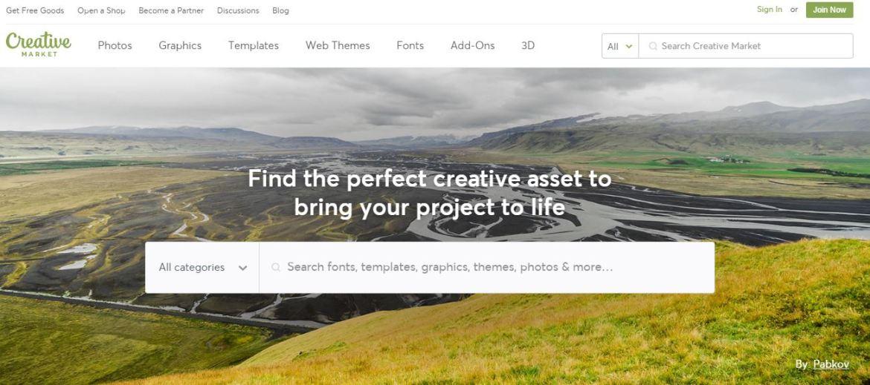 Creative Market - Envato Elements Competitors & alternative