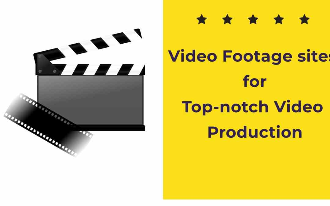 Top-notch stock video footage/clips for website & video production