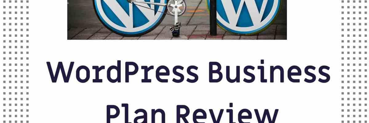 WordPress Business Plan Review