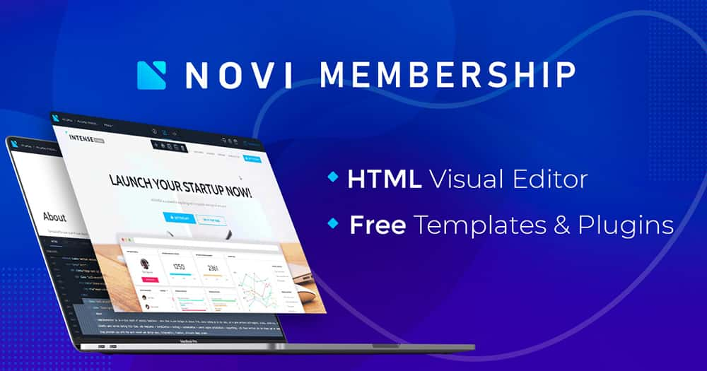 Novi Builder - web design resource & tools