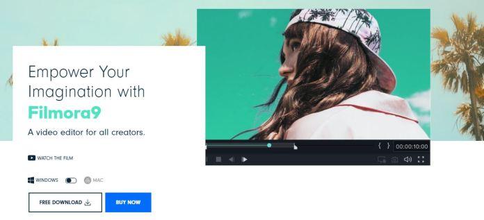 Filmora - cheapest Video editing software under $50
