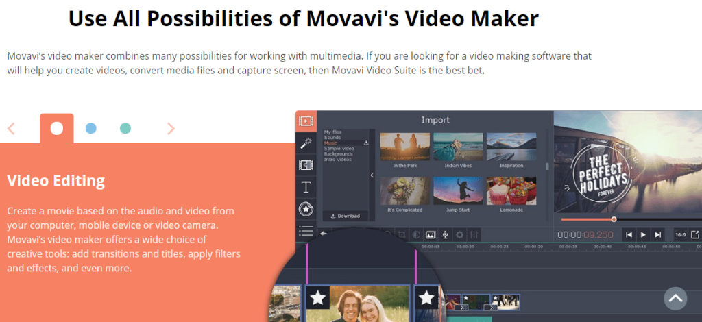 Movavi Editor - Best & Cheapest Video Editor Software & online editor