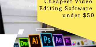 Cheapest online video editing software under $50