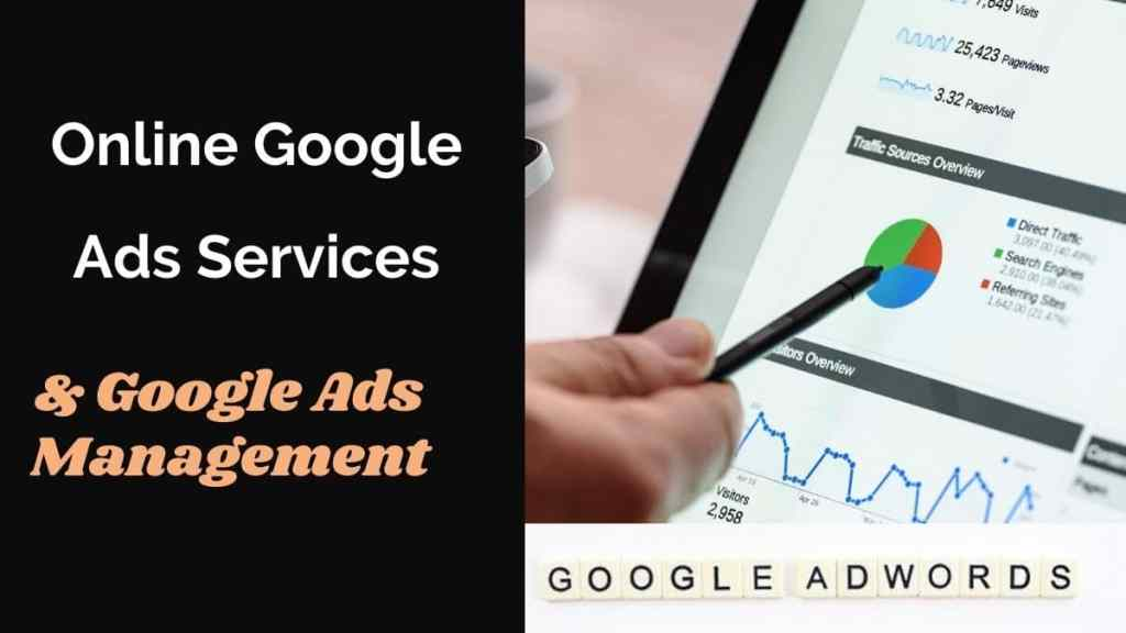 Online Google Ads services & management