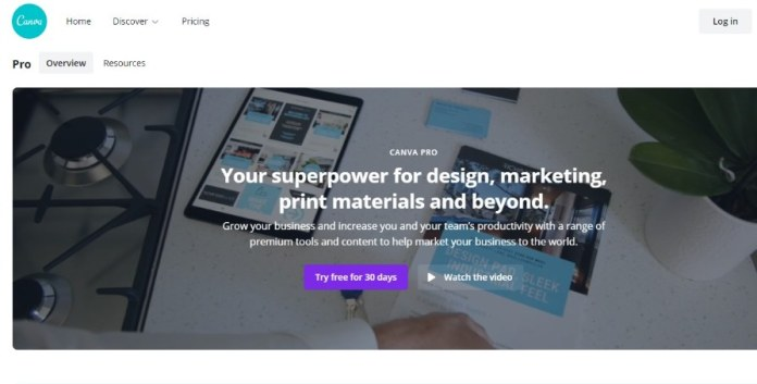 Canva Pro as alternative to creative market