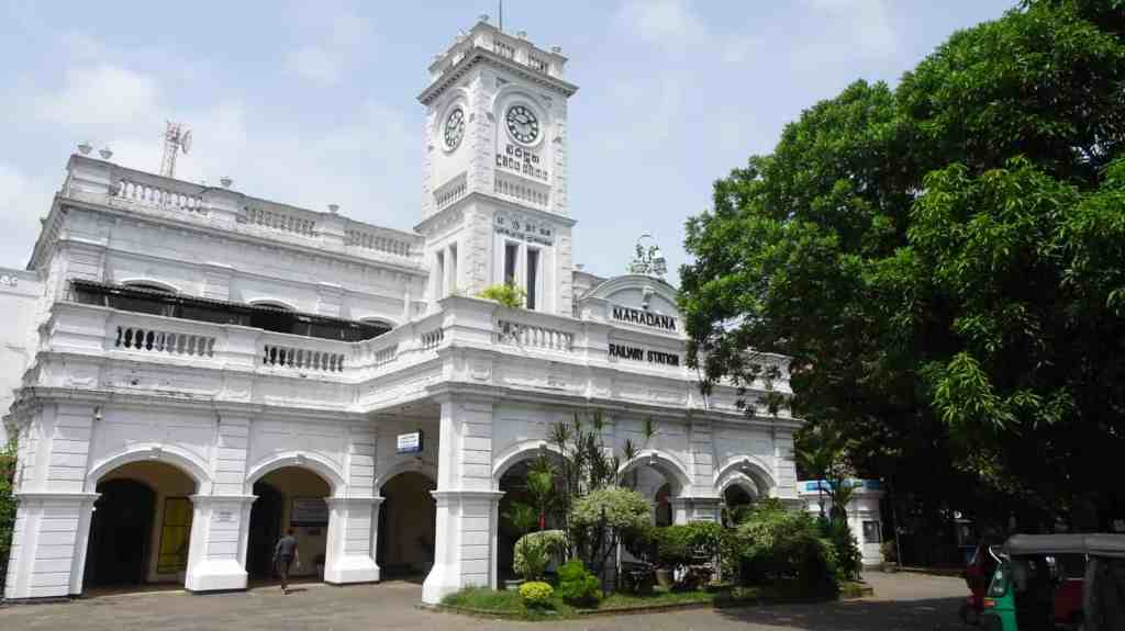 Maradana railway station Colombo