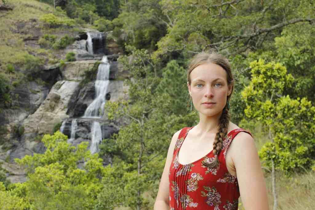 Diyaluma Waterfal Upper Falls; great place for photo's