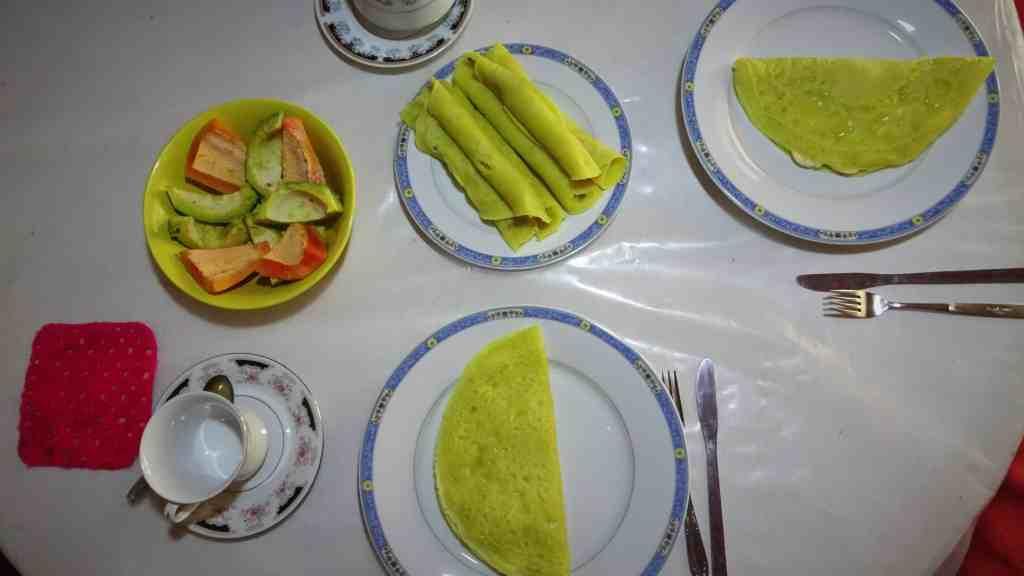 Food in Sri Lanka; Honey coconut pancakes