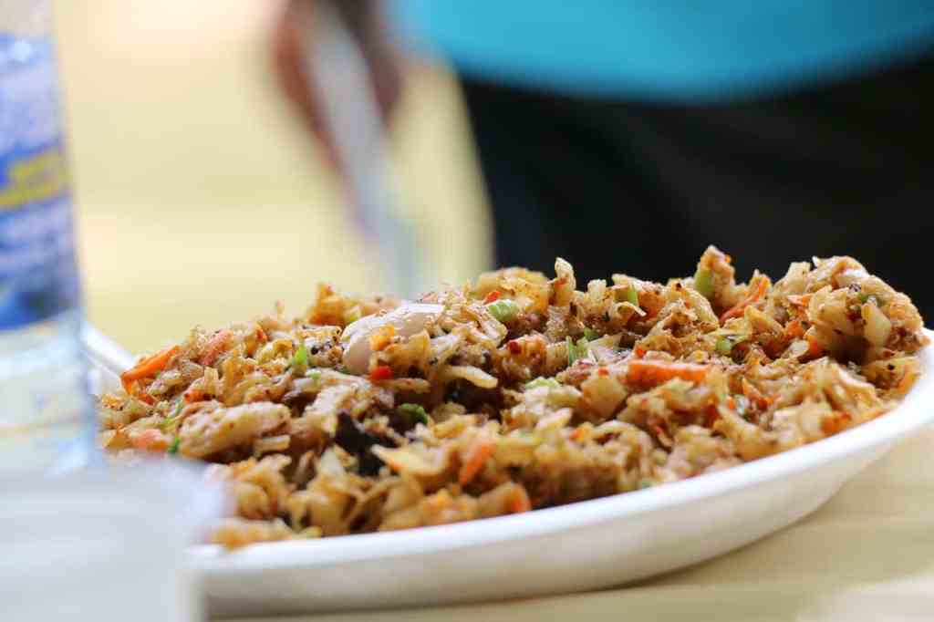 Food in Sri Lanka; Kottu