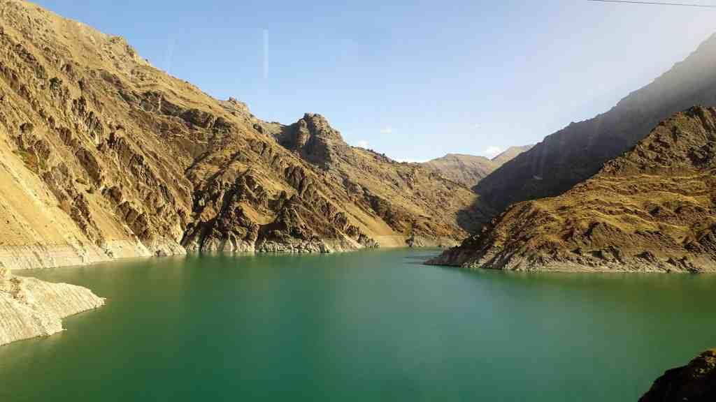 Chalus Road, the Amir Kabir Lake