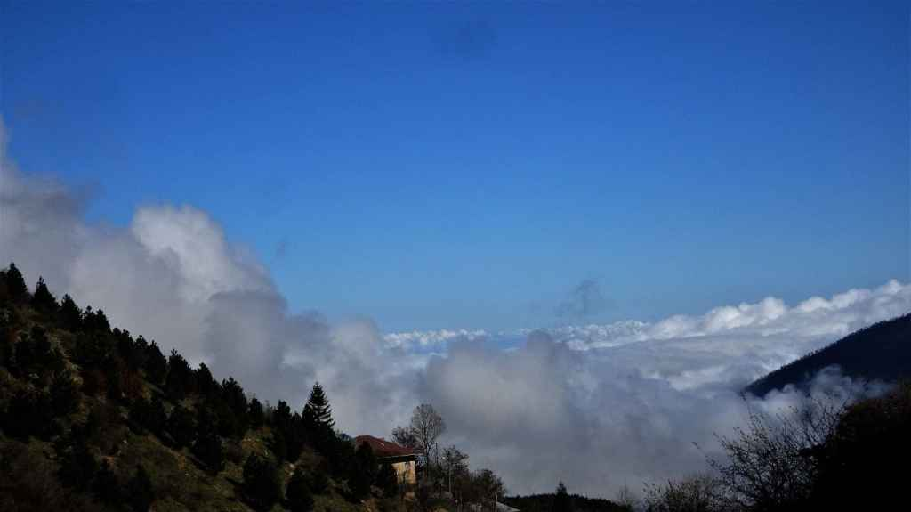 Reasons to visit Ramsar; walk above the clouds in Javaher Deh Village