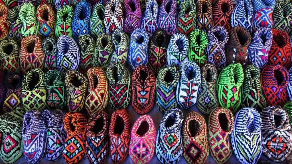 Javaher Deh - knitted footwear