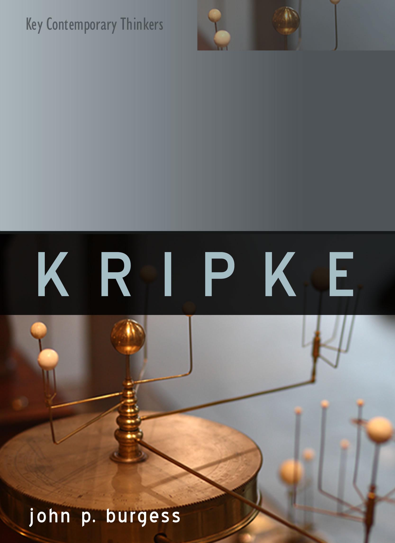 Kripke by John Burgess