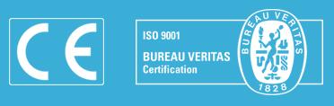 Sellos CE e ISO9001