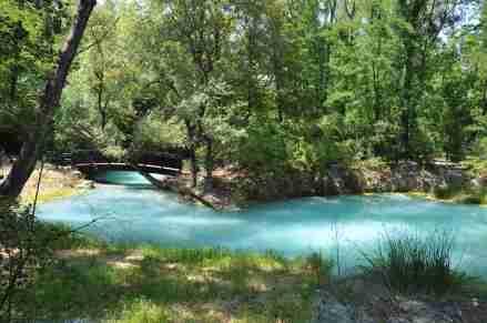 30 sorgenti sulfure del fiume lavino abruzzo