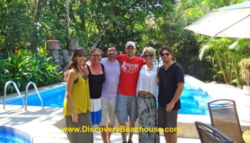 Jeanette Gibson and Family loved their Costa Rica beach vacation.