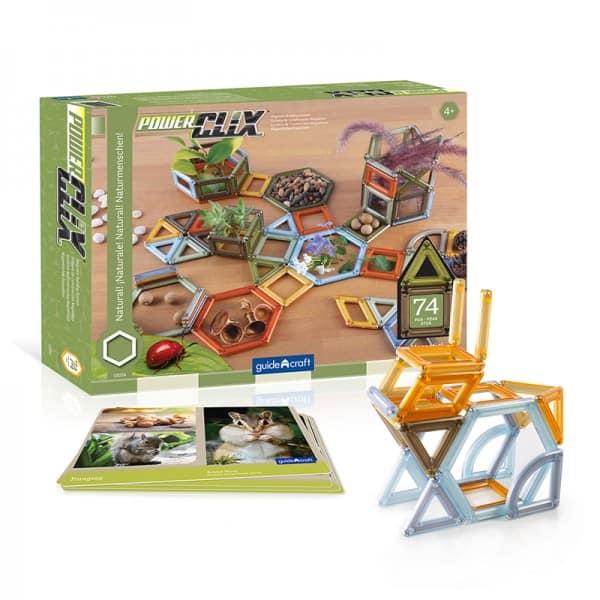 magnetic block for kids-magnetic tiles for kids-natural frames