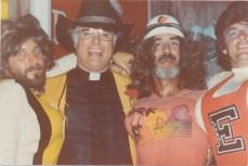Fr Brunet Cheerleaders 1982