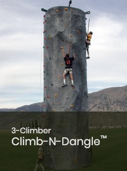 3 Climber Climb-N-Dangle