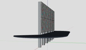 Designing a bouldering wall