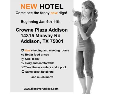 discovery training hotel